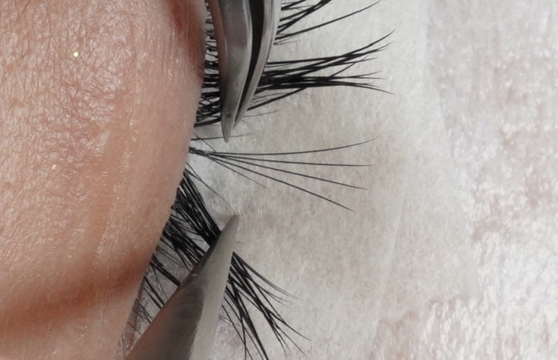 Eyelash Extensions Competition Example Volume Split
