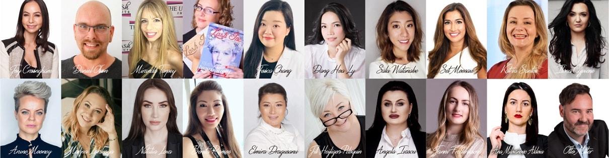 fabulash eyelash extensions competition 2019 judges